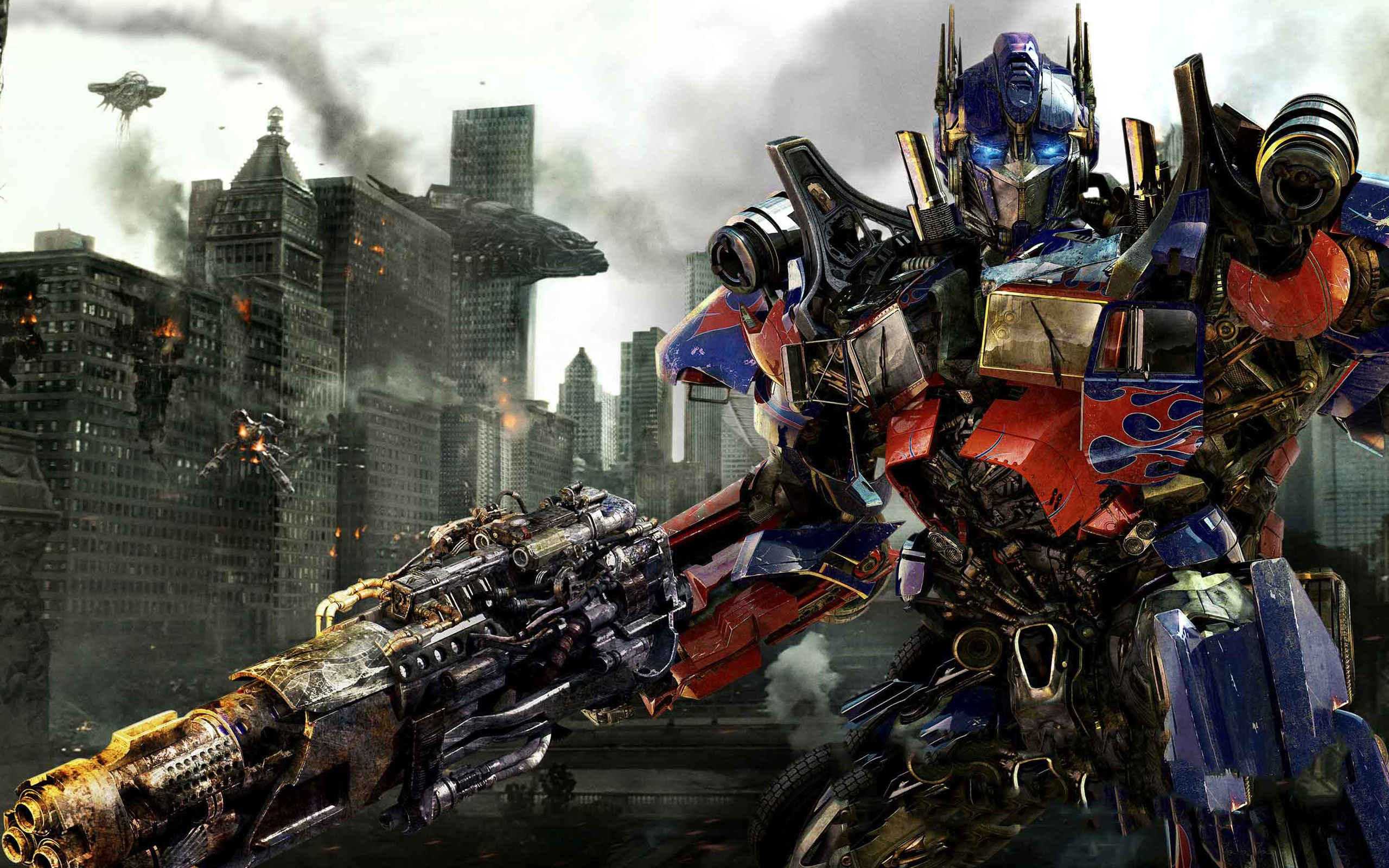Transformers 3 optimus prime-wide
